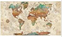 Wanderlust Map Panel