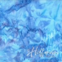 Hoffman Batik Smoothies Hydrangea