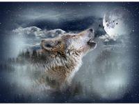 Hoffman Moonstruck Wolf Panel