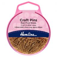 Craft Pins - Brass - 20mm