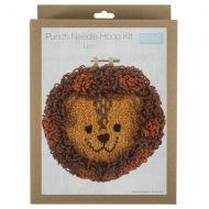 Punch Needle Hoop Kit - Lion