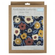 Punch Needle Kit - Cushion - Modern Floral