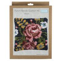 Punch Needle Kit - Cushion - Bloom