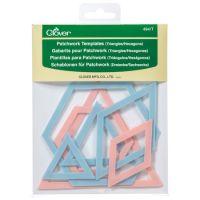 Patchwork Templates - Triangle/ Hexagon
