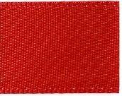 Satin  Ribbon 6mm Hot Red