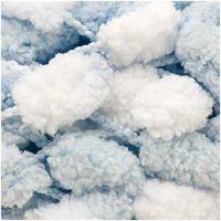 Rico Pompom Blue/ White