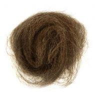 Wool Roving 10g Melane Light Brown