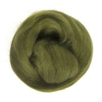 Wool Roving 10g Lime