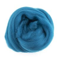 Wool Roving 10g Turquoise