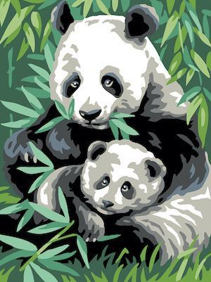 Canvas: Royal Paris: Panda