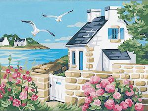 Canvas: Royal Paris: Cottage by the Sea
