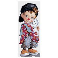 Canvas: Royal Paris: Small Clown Pio