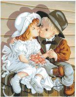 Canvas: Royal Paris: Kiss