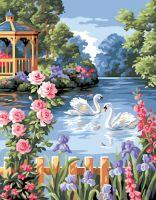 Canvas: Royal Paris: The Flower Pond