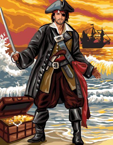 Canvas: Royal Paris: Pirate