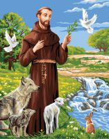 Canvas: Royal Paris: Saint Francis of Assisi