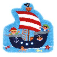 Vervaco Rug Kit Pirate Ship