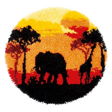 Vervaco Rug Kit African Sunset