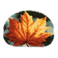 Vervaco Rug Kit Autumn Leaf