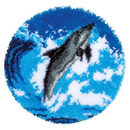 Vervaco Rug Kit Dolphin