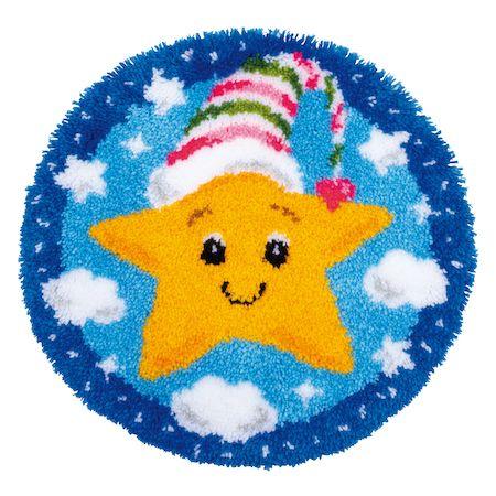 Vervaco Rug Kit Little Star