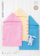 Sirdar Leaflet no 4536 Baby Chunky Sleeping Bag