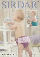 Sirdar Leaflet No 4704 Nappy Covers