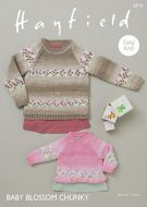 Sirdar Leaflet no 4715 Baby Blossom Chunky Jumpers