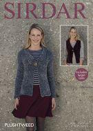 Sirdar Leaflet No 7873 Plush Tweed Jacket