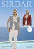 Sirdar Leaflet no 7913 Cotton Cardigan