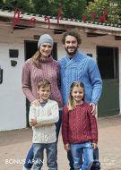 Sirdar Leaflet 8166 Family Aran Sweaters
