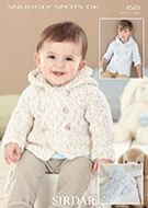 Sirdar Leaflet 4569 Baby Boys Coat