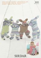 Sirdar Leaflet No 4630 Knitted Toy Rabbits