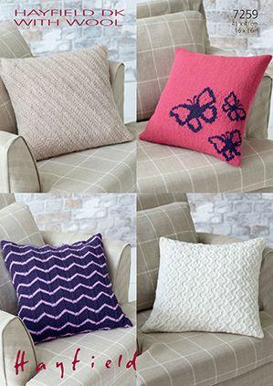 Sirdar leaflet No 7259 Dk Cushions