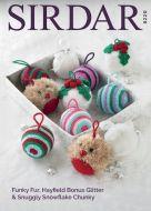 Sirdar Leaflet 8220 Christmas Decorations