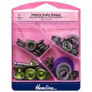 Heavy Duty Snaps - Antique Brass - 15mm