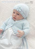 Baby Girls Bolero & Hat Pattern 1817