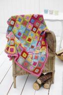 Stylecraft Leaflet 9232 Crochet Throw