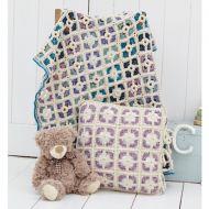 Stylecraft Leaflet 9300 Batik Crochet Throw