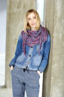 Stylecraft Leaflet 9409 Batik Dk Knitted Shawl