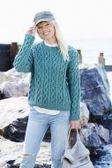 Stylecraft Leaflet  9440 Ladies Aran Sweater