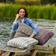 Stylecraft Leaflet 9468 Mega Chunky Cushions