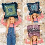 Stylecraft Leaflet 9487 Swirl Crochet Cushions