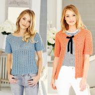 Stylecraft Leaflet 9514 Crochet Top