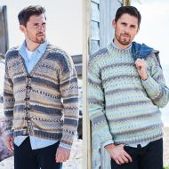 Stylecraft Leaflet  9572 Heritage Aran Sweater