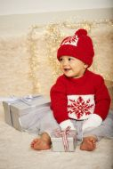 Stylecraft Leaflet  9576 Baby Christmas Jumper