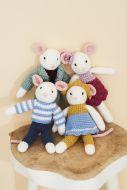 Stylecraft Leaflet 9664 Crochet Mice