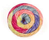 Batik Swirl DK - Rainbow 3733