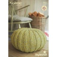 Stylecraft Leaflet 8821 Nordic Throw