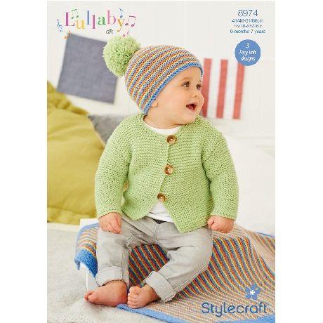 Stylecraft Leaflet 8974 Baby Dk Jacket